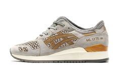 "ASICS Gel Lyte III ""Laser Cut"" Light Grey"