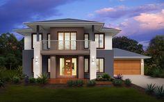 Metricon Home Designs: The Newhaven Resort Facade. Visit www.localbuilders.com.au/builders_queensland.htm to find your ideal home design in Queensland
