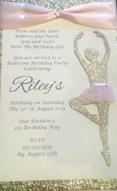 Printable GIRLS BIRTHDAY Party Poster  Banner  Backdrop  Buffet Table  Candy Size 1500x1000mm Dance Dancer Tutu Ballet Ballerina