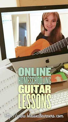 Online Homeschooling Guitar Lessons