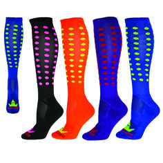 6778dc3d2cf Red-Lion-Mini-Dots-Zany-Performance-Socks Softball Socks