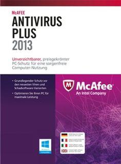 McAfee AntiVirus Plus 2013 - 1 User [Download]