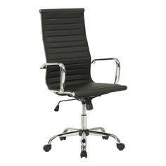 Wildon Home ® High-Back Office Chair with Arms | Wayfair