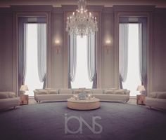 Luxury Seating Lounge designed by IONS