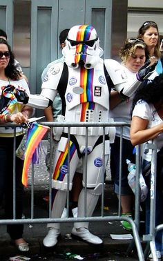 Gay pride all over the galaxy