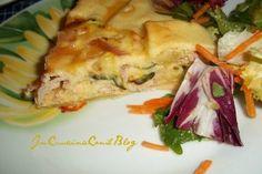 TORTA SALATA prosciutto e zucchine