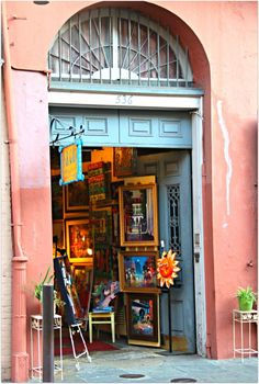 New Orleans Homes and Neighborhoods » Unique Shops on Royal Street in New Orleans, Such a Variety and its All Walking…