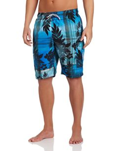 Ready for warm weather! U.S. Polo Assn. Men's Plaid Hibiscus Short.
