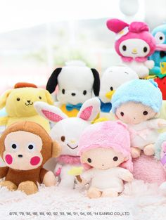 It's good to have #Sanrio friends!