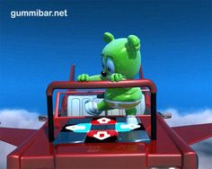 Gummibär The Gummy Bear is crazy funny and loves to dance! http://www.gummibar.net