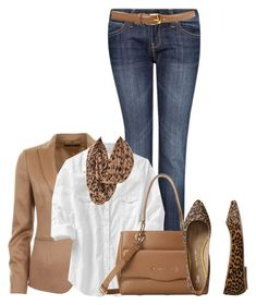 Untitled #3035 by mrsdarlene on Polyvore featuring Old Navy, Gucci, MANGO, Gap, Love Moschino, Hoss Intropia and Au Jour Le Jour
