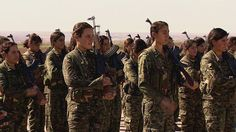 Kurdish women a force to be reckoned with for ISIS. Kurdish women fight as part of the People's Protection Units (YPG) against ISIS in Syria and beyond.
