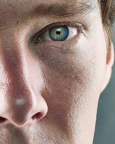 Eyes of Benedict Cumberbatch