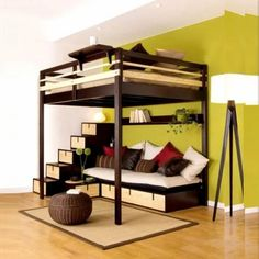 Space Saving Beds 10 great space-saving beds | space saving beds, spaces and house