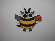 Barbara's World of Whimcees: Halloween Wall Hanging Tutorial and A Little Bee Owl Arrives In Owl Forest