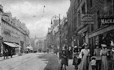 Tour Scotland Photographs: Old Photograph Perth Scotland
