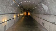A restored Nazi bunker in Bavaria, Germany, The vast facility was discovered last week near the town of St Georgen an der Gusen. It is believed to be connected to the nearby B8 Bergkristall underground factory that produced the Messerschmitt Me 262, the world's first operational jet-powered fighter, that posed a brief threat to allied air forces in the war's closing stages.