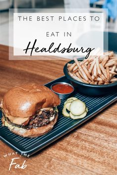Plan a weekend getaway to Healdsburg! Healdsburg is filled with plenty of wineries for fun tastings and a list of some of the most DELICIOUS foods to try from! Healdsburg Wineries, Healdsburg California, California Restaurants, Sustainable Food, World Recipes, Best Places To Eat, Foodie Travel, Food Presentation, Street Food