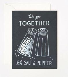 Paper Party | Salt & Pepper Card