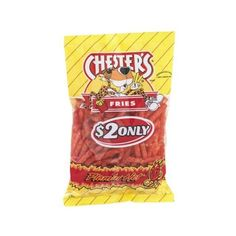 Chester's Fries Flamin' Hot Flavor ($4.75) ❤ liked on Polyvore featuring food, food and drink and filler