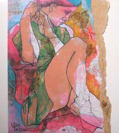 "Saatchi Art Artist Lena Kramarić; Painting, ""L37"" #art"