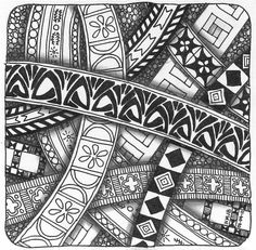 Tangle 024 by perfectly4med, via Flickr