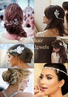 Hair Jewels for your Wedding Day
