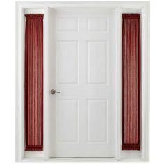 1000 Ideas About Sidelight Curtains On Pinterest Door Curtains Window Privacy And Magnetic
