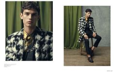 Arthur Gosse Models Fall Fashions Worthy of a Prince for Mens Uno Cover Story image Arthur Gosse Mens Uno 003 800x504