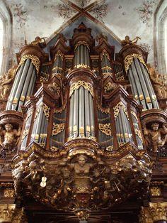 Sint-Michaëlskerk Schnitger Orgel, Zwolle, The Netherlands