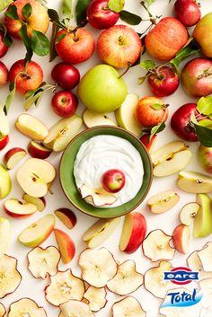 Απόλαυσε την… τραγανή πλευρά του φθινοπώρου με μήλα και Total.