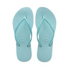 66d3811b7 Havaianas Slim Acqua Flip Flop - New for 2013 these slim acqua havaianas  are truly beautiful. The blister free strap and sole are acqua blue