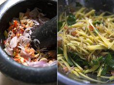 ... Green Mango Salad on Pinterest | Mango salad, Green papaya salad and