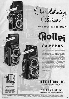 All Rollei TLR Cameras by year - www.rolleiclub.com