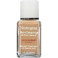 Neutrogena - SkinClearing Oil-Free foundation- $13.00