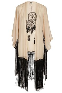 Kimono- perfect mix to my Native American and Asian soul :)