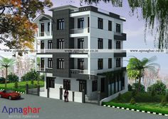 Looking for an Independent House Design? Visit - www.apnaghar.co.in