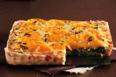 Butternut Squash & Spinach Tart by pastryaffair -- Must make this!