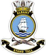 HMAS Albany (ACPB 86), named for the city of Albany, Western Australia, is an Armidale class patrol boat of the Royal Australian Navy (RAN).