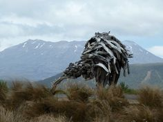 Not just gigantic, but clever as well. Mount Everest, Clever, Lion Sculpture, Statue, Mountains, Sculptures, Bergen, Sculpture