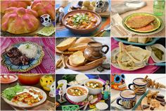 Recipes for your #DiaDeMuertos Feast.  #dayofthedead #diadelosmuertos