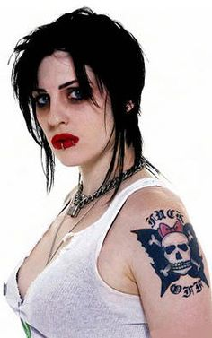 Brody Dalle (The Distillers) Brody Dalle, The Distillers, Best Tattoo Ever, Art With Meaning, Natural Redhead, Her Music, Powerful Women, Most Beautiful Women, Punk Rock