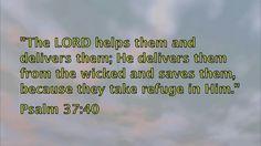 Scriptures against spiritual enemies - Part 1 Psalm 37, Enemies, Scriptures, Wicked, Channel, Spirituality, Lord, Videos, Youtube
