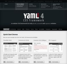 Bootstrap from twitter simple and flexible htmlcss and framework yaml4 css framework malvernweather Choice Image