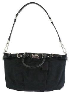 204ee864b3 Coach Signature Sophia Convertiable Satchel Bag Purse Tote 18650 Black -  List price   298.00 Price   259.99