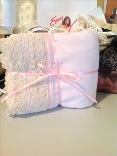 Pink flannel pillowcases