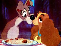 Lady and the Tramp..  :):)