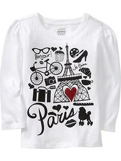 Graphic Long-Sleeve Tees for Baby   Old Navy