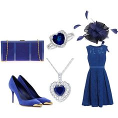"""Royal Blue"" by dahliafahrian on Polyvore"