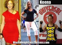 Keena lost 58 pounds | Black Weight Loss Success